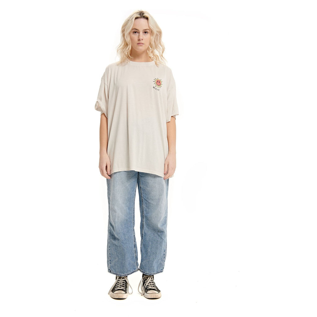 OPTO-MIST OVERSIZED TEE OFF WHITE