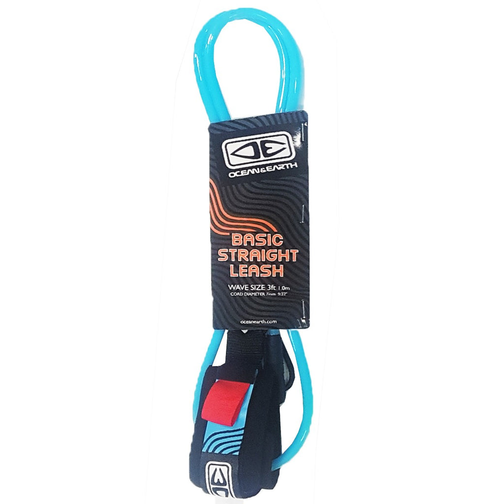 Bodyboard Basic Straight Cord Leash