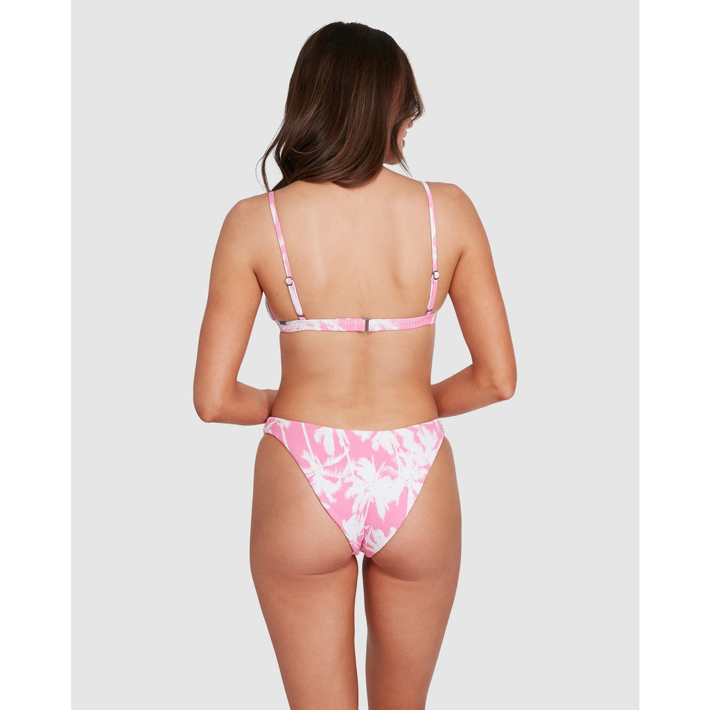 PRETTY PALMS HIKE BIKINI BOTTOM