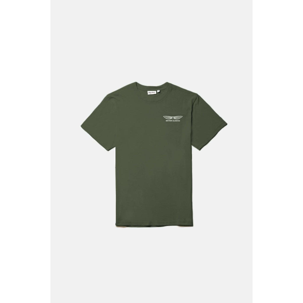 SUNDOWN TEE RHYTHM OLIVE