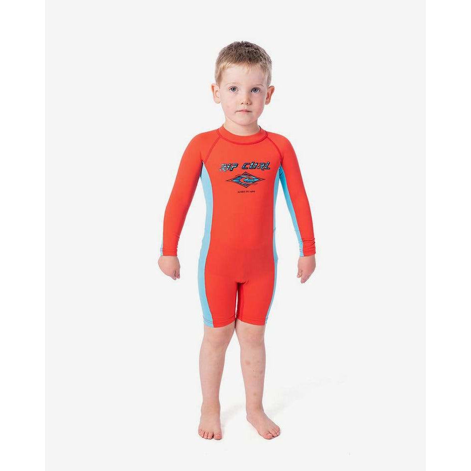 GROM BOYS LONG SLEEVE UV SPRING RIP CURL