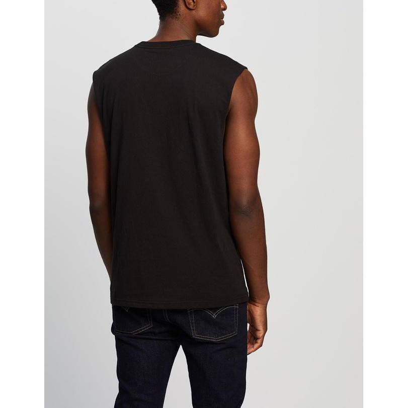 BRIXTON RIVAL MUSCLE TEE BLACK