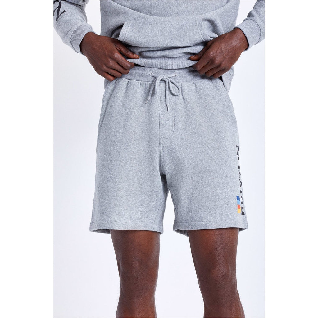 BRIXTON STEM FLEECE X SHORT GREY