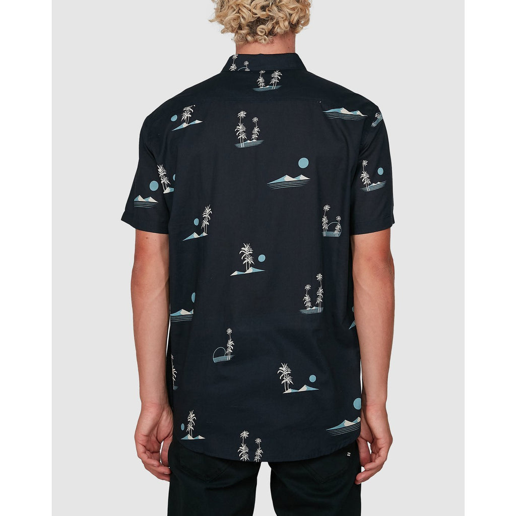 BILLABONG SUNDAYS MINI SS SHIRT DARK NAVY