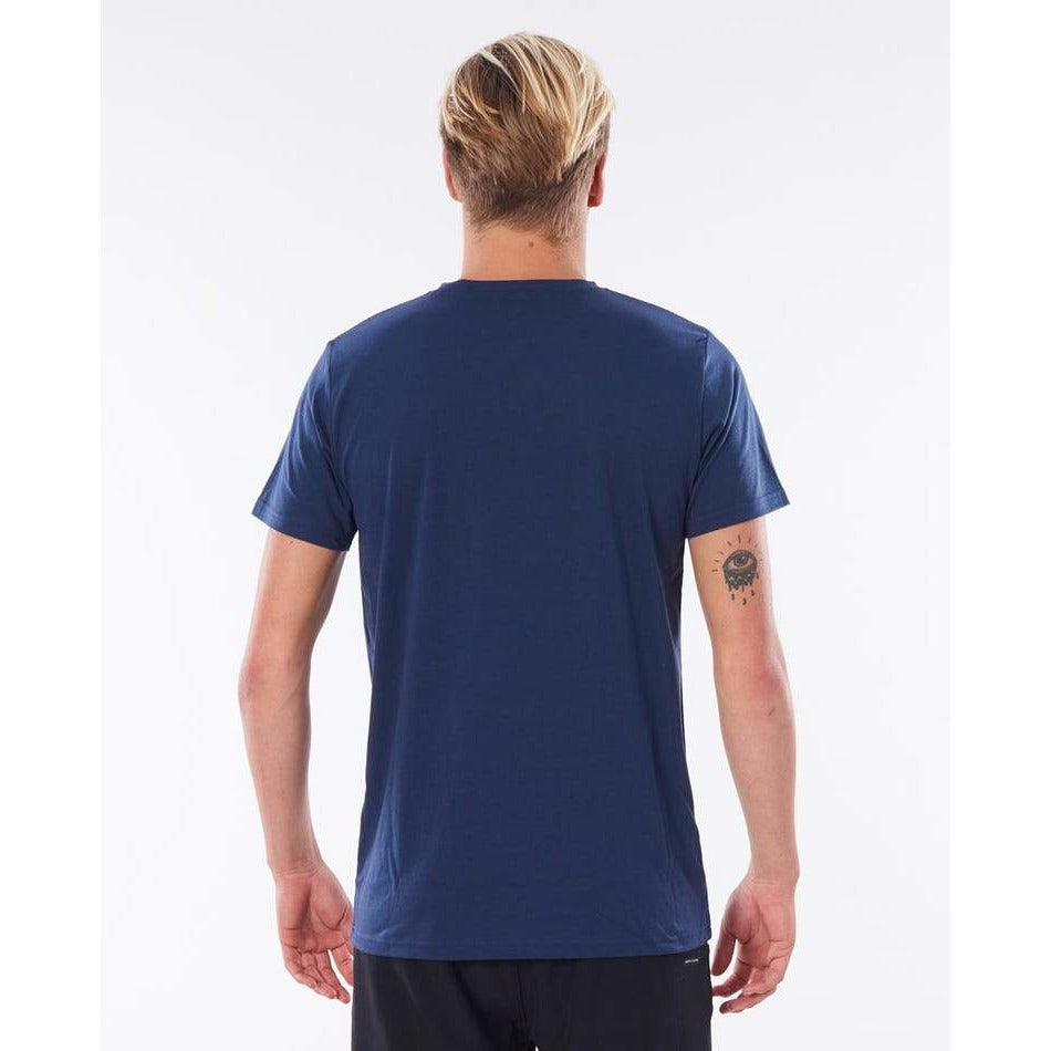 SEACHERS SHORT SLEEVE UV TEE NAVY