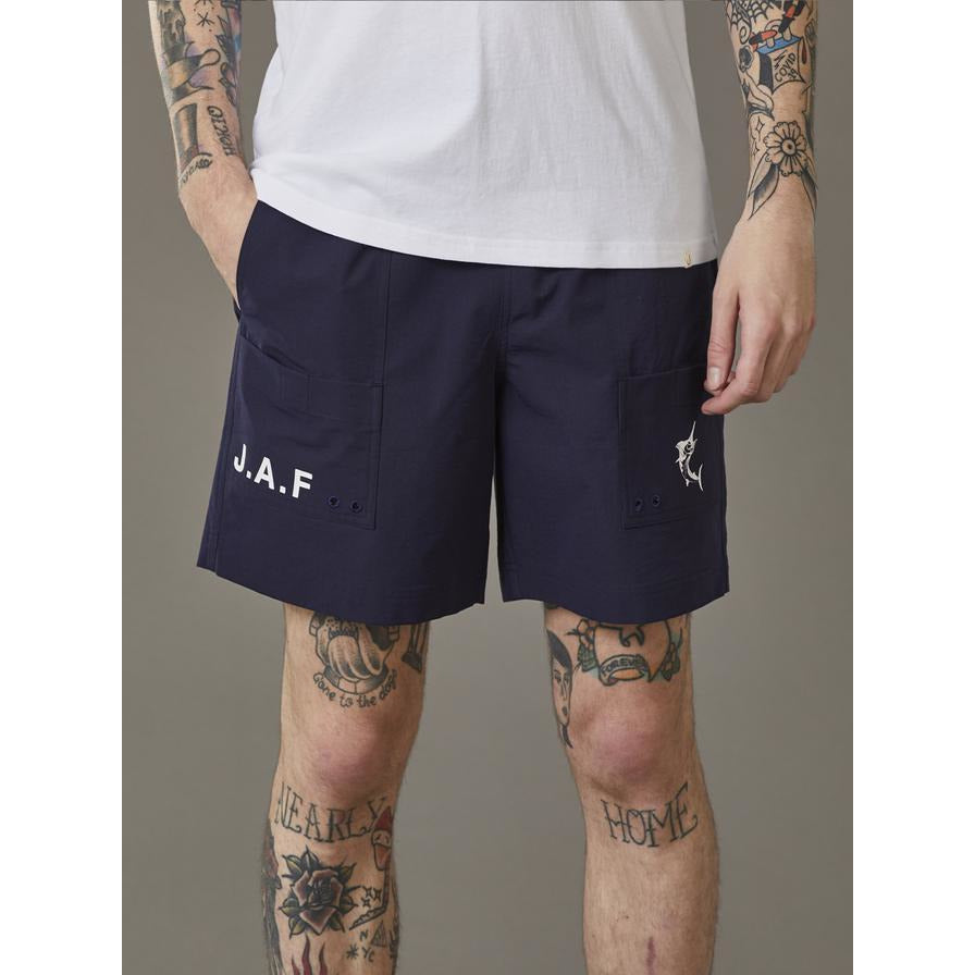 JUST ANOTHER FISHERMAN TRAVELLER SHORT NAVY