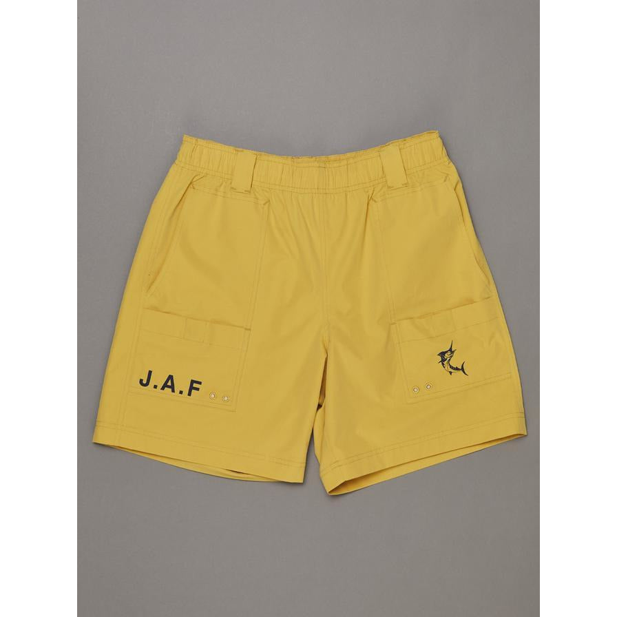 JUST ANOTHER FISHERMAN TRAVELLER SHORT YELLOW