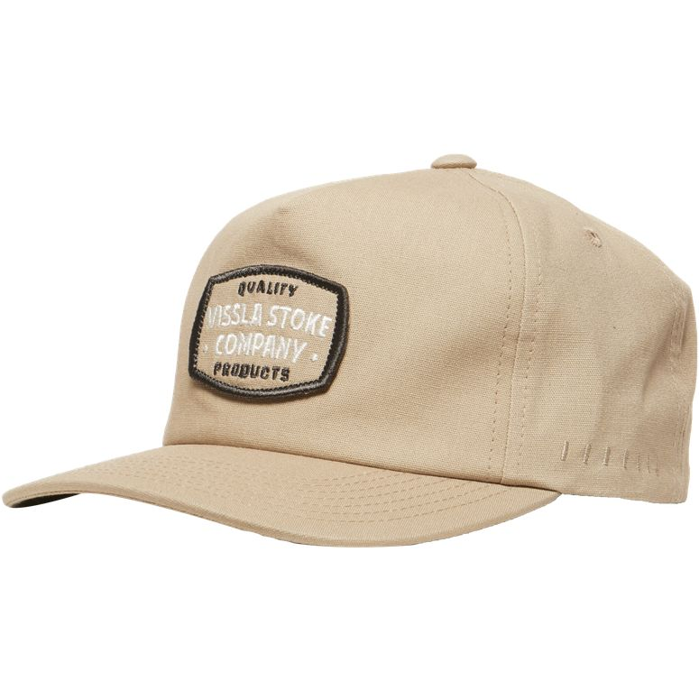 VISSLA SEAL OF STOKE HAT KHAKI MENS