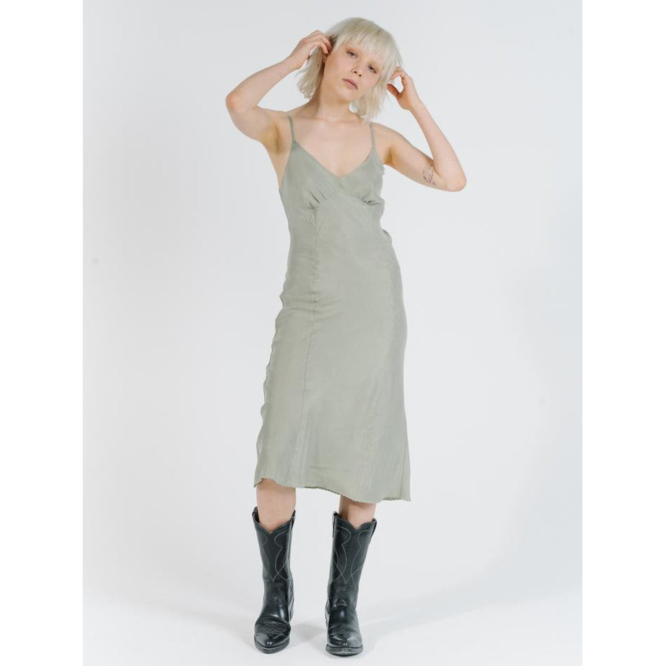 ESTATE MIDI SLIP DRESS
