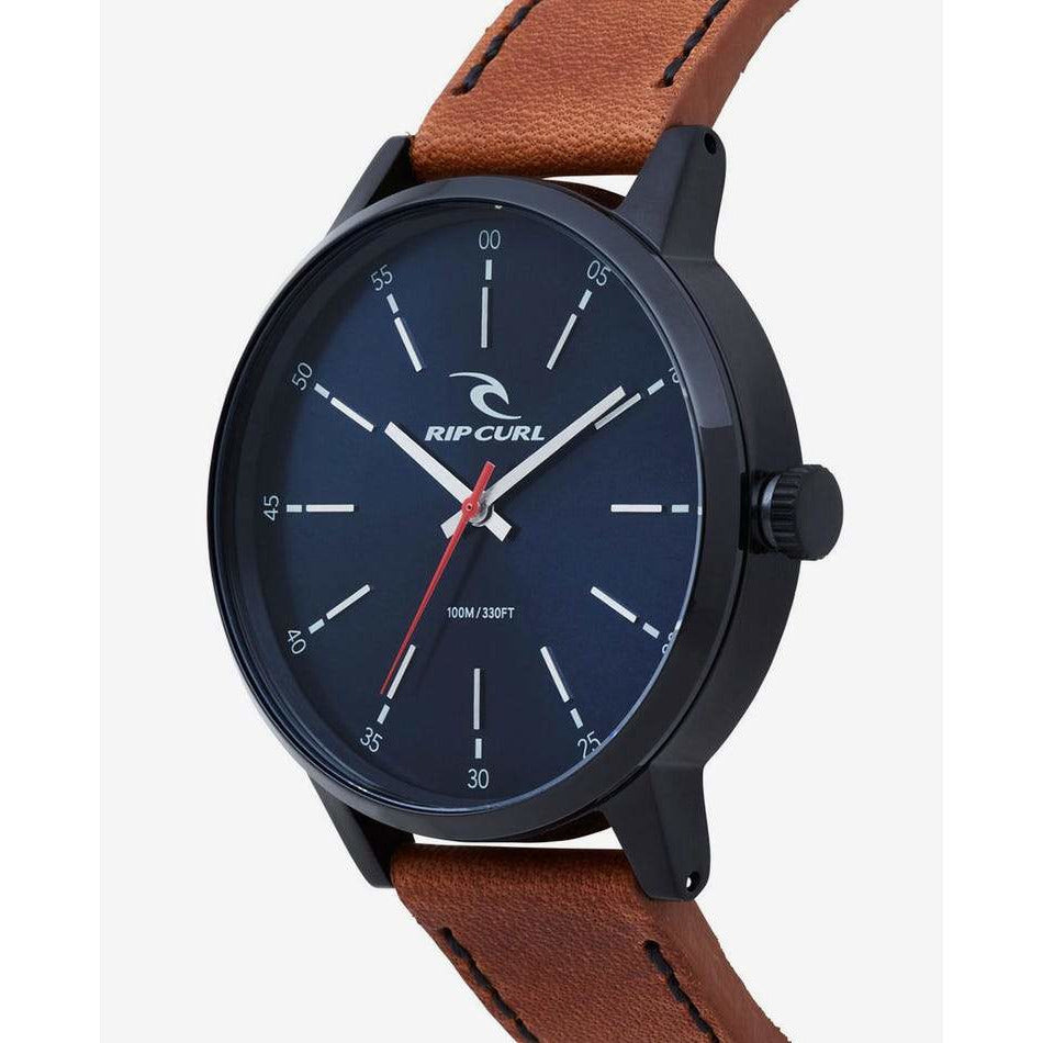 DRAKE MIDNIGHT LEATHER WATCH