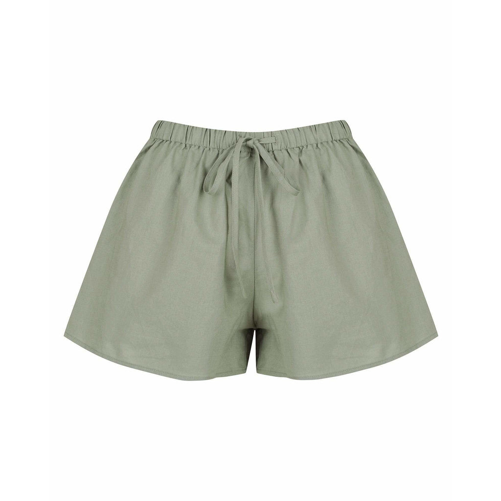 HARLOW SHORT CHARLIE HOLIDAY WOMENS SHORTS KHAKI DECEMBER