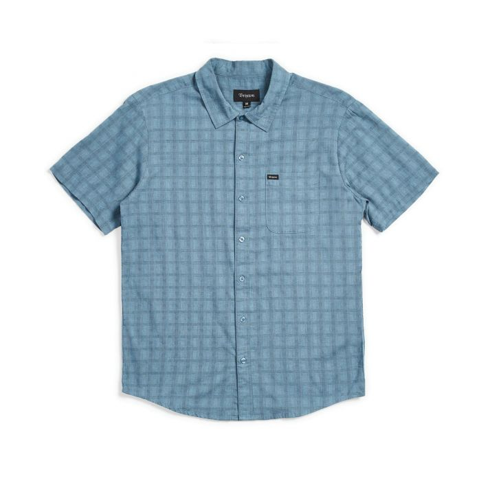 CHARTER PLAID SS WOVEN