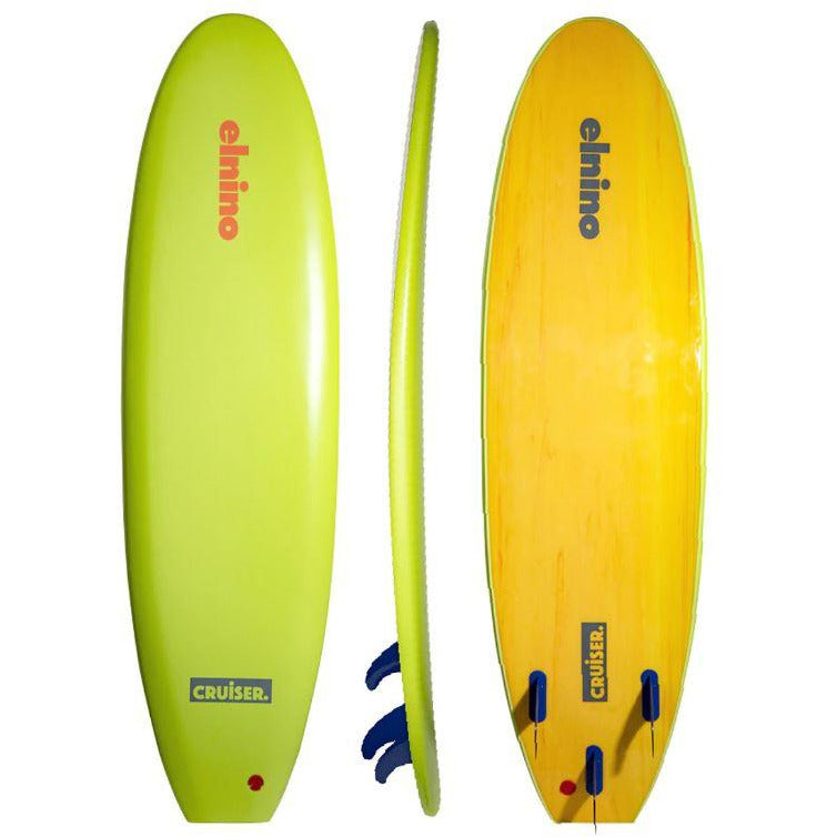 "CRUISER 6'6"" EL NINO CRUISER LIME GREEN"