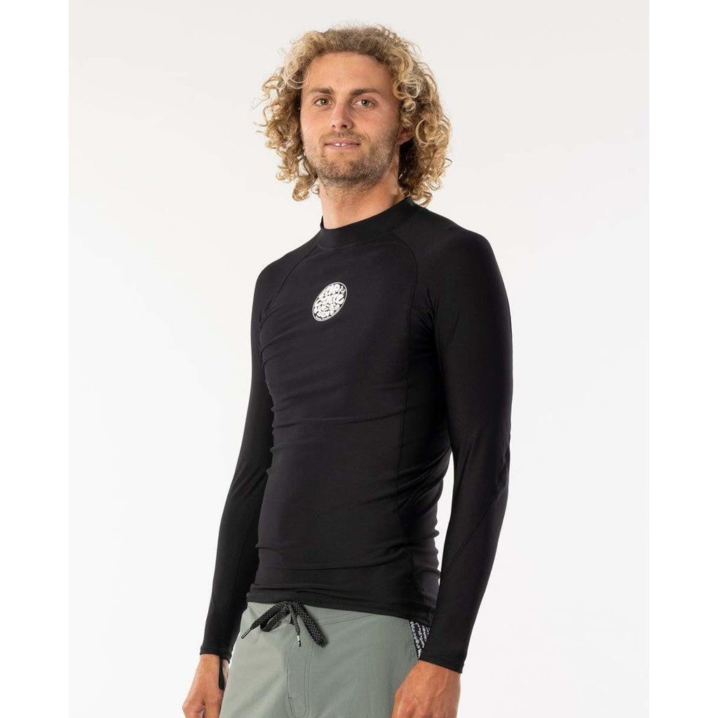FLASHBOMB POLYPRO LONG SLEEVE RASH VEST RIP CURL