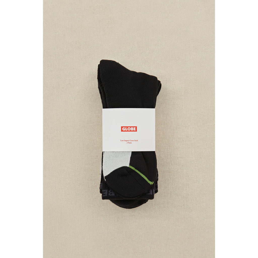LOW IMPACT CREW 3 PACK SOCK