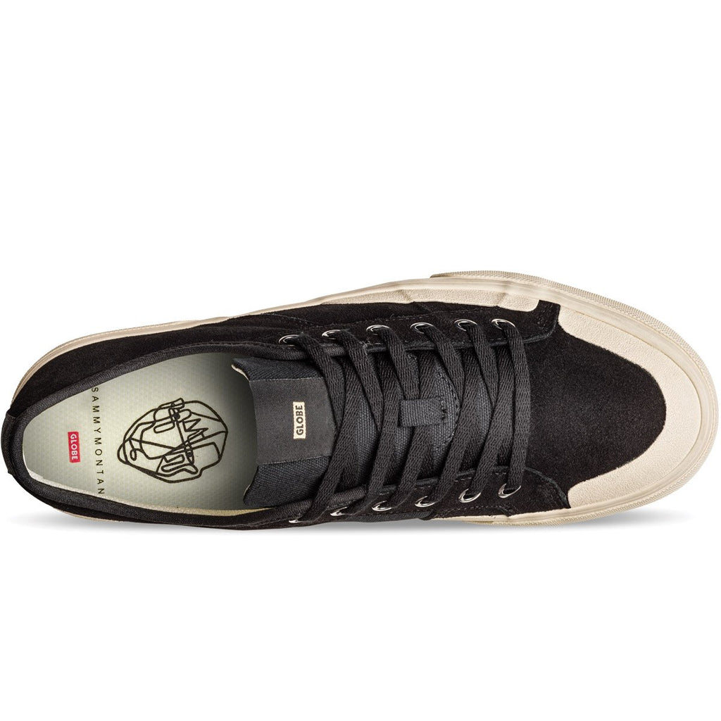 GLOBE SURPLUS BLACK/WHITE SKATE SHOE