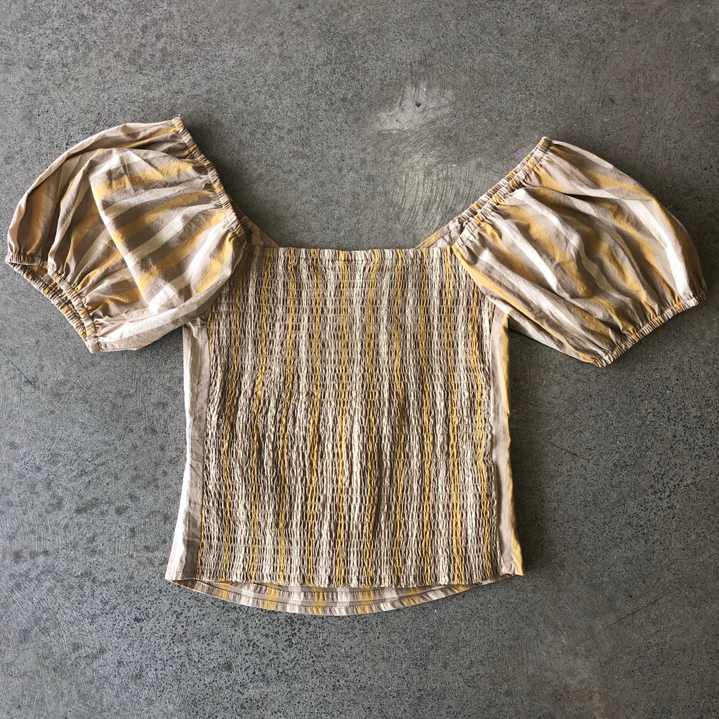 THING THING LOLA TOP BEACH STRIPE