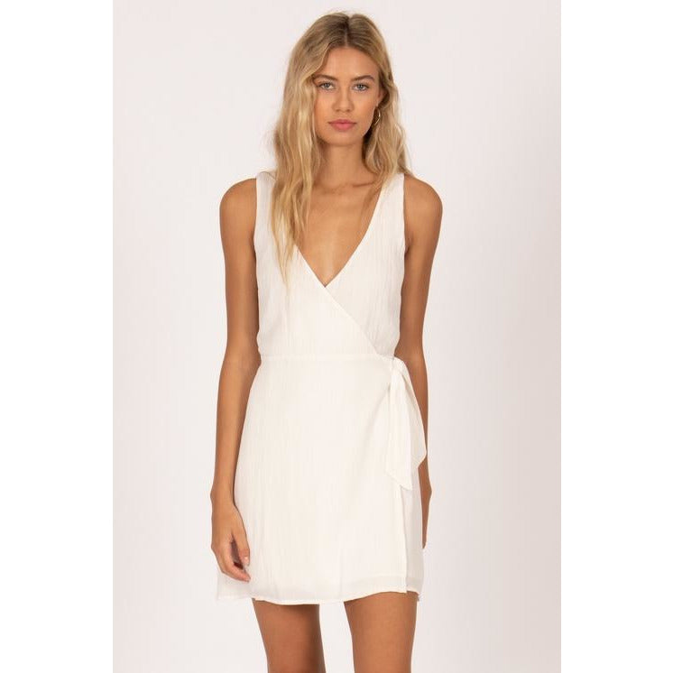 JET LAG MINI WOVEN DRESS