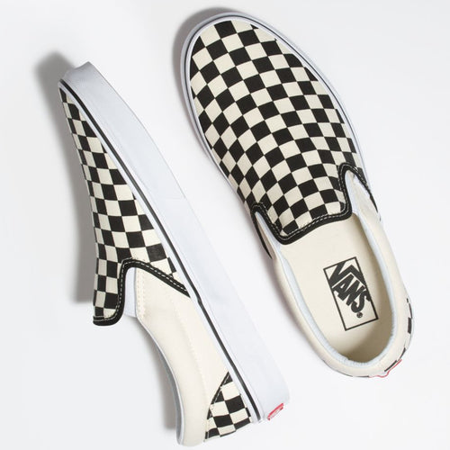 CSO BLACK WHITE CHECKER SHOE