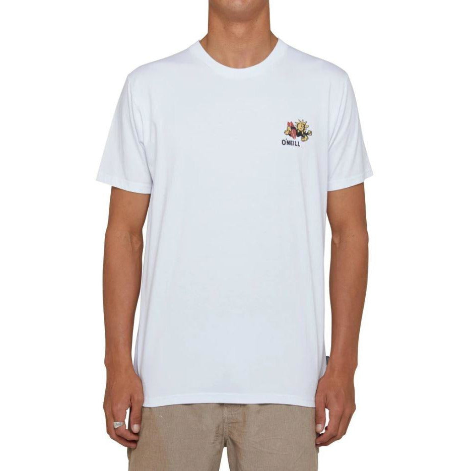LOCAL SUPPORT TEE O'NEILL WHITE MENS