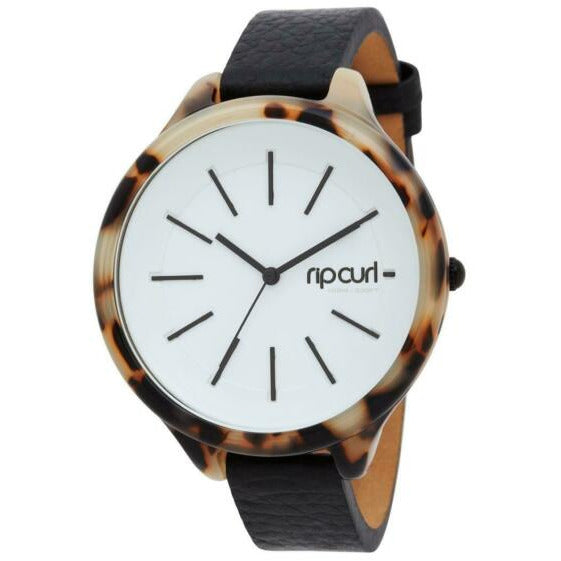 HORIZON ACETATE LEATHER WATCH