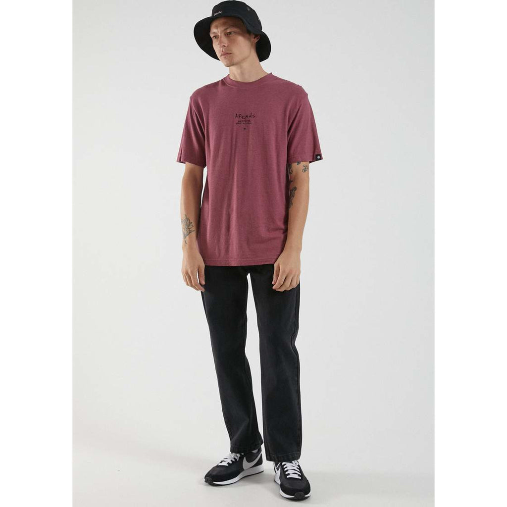 afends static to violent hemp tee