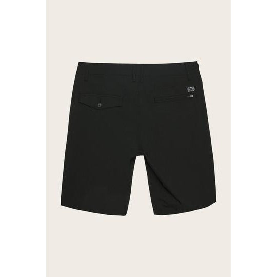 STOCKTON HYBRID SHORTS O'NEILL BLACK MENS
