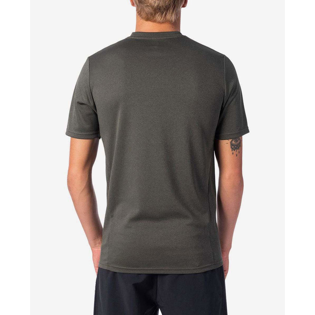 VALLEY TECH SHORT SLEEVE RIP CURL MENS RASH VEST