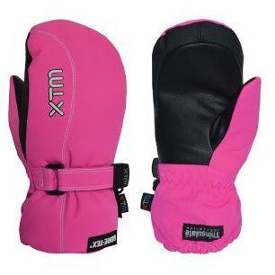 KIDS MITTS HOT PINK