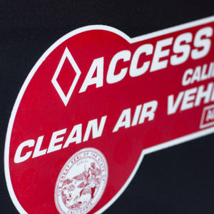California Clean Air Vehicle Clean-Cling