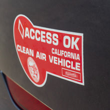 Load image into Gallery viewer, California Clean Air Vehicle Clean-Cling