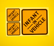 Load image into Gallery viewer, Emergency Services: Infant In Vehicle Clean-Cling