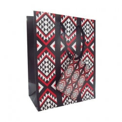 Gift Bag Small NZ Maori Pattern