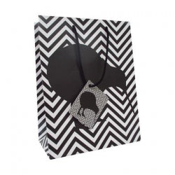 Gift Bag Medium NZ Kiwi Chevron