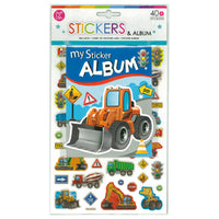 Sticker Album Diggers 235 x 160mm