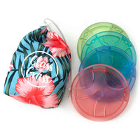 Glass on the Grass Hibiscus Blue Range
