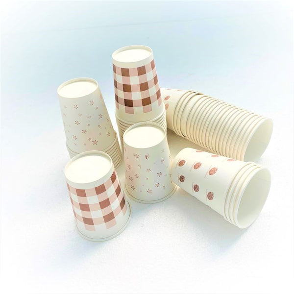 Paper Cups 250ml - Pack of 50