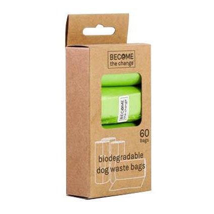 Pet Waste Bags Biodegradable 4 rolls 12/48