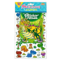 Sticker Album Dinosaurs