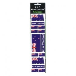 NZ Stickers NZ  Flag