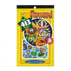 Reward Sticker Pad 413pc