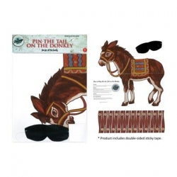 Vintage Pin the Tail on the Donkey Game 12/144