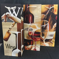 Gift Bag Wine Brown