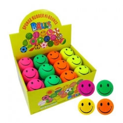 Ball Rubber Smile 63mm - Box of 24