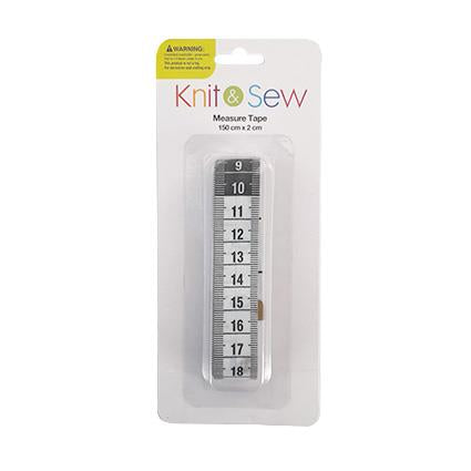 Sewing Tape Measure White 150 x 2cm
