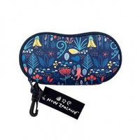NZ Sunglass Case Floral Neoprene