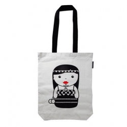 Bag Canvas Maori Girl 40x30cm 6/72
