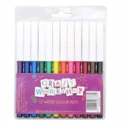 Colouring Felt Pens 12pc  12/144