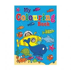Colouring Book Submarine 32pgs