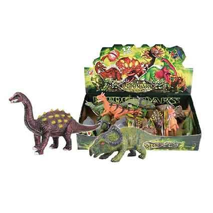 Toy Dinosaur 15cm 6 assd Box of 12